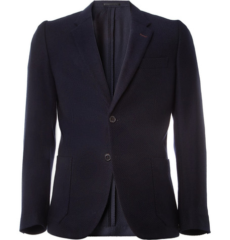 Paul Smith Unstructured Wool and Cashmere-Blend Blazer