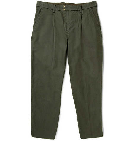 Kolor Tapered Cotton Trousers