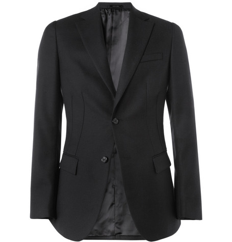 Jil Sander Virginia Slim-Fit Wool-Blend Blazer