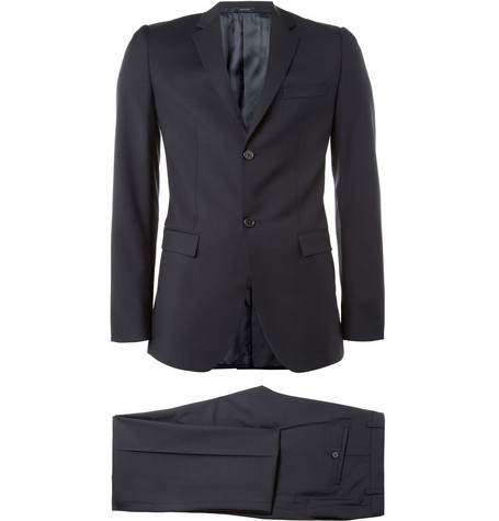 Jil Sander Slim-Fit Wool and Mohair-Blend Suit
