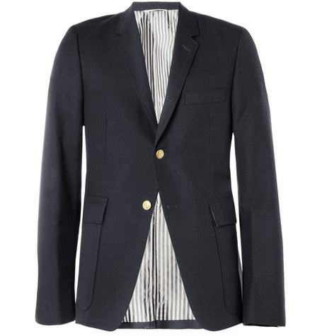 Thom Browne Slim-Fit Wool-Blend Blazer
