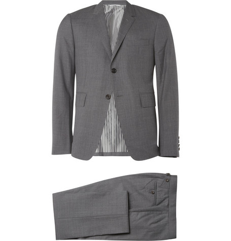 Thom Browne Slim-Fit Wool Suit