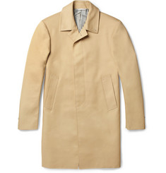 Thom Browne Cotton-Twill Rain Coat