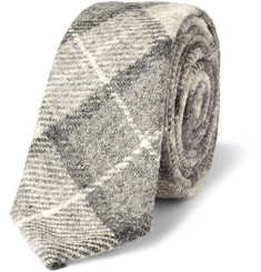 Thom Browne Plaid Wool Tie