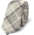 Thom Browne - Plaid Wool Tie