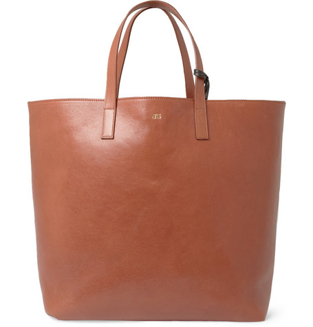 Jil Sander Reversible Leather Tote Bag