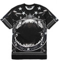 Givenchy - Oversized Shark-Print Cotton-Jersey T-Shirt