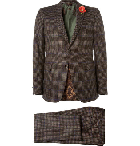 Etro Minete Wool-Blend Tweed Suit
