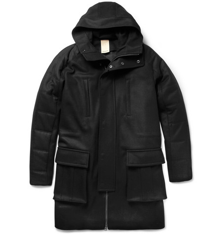 Wooyoungmi Quilted Wool-Blend Coat