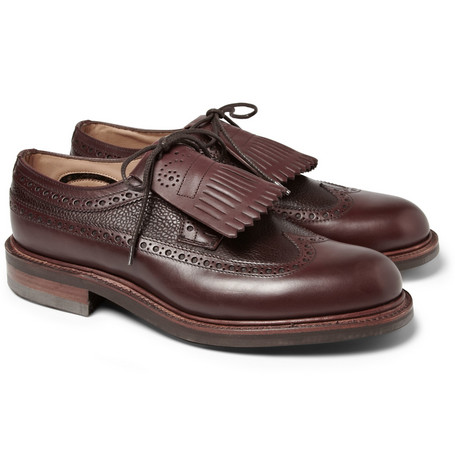 Wooyoungmi Tasselled Leather Brogues