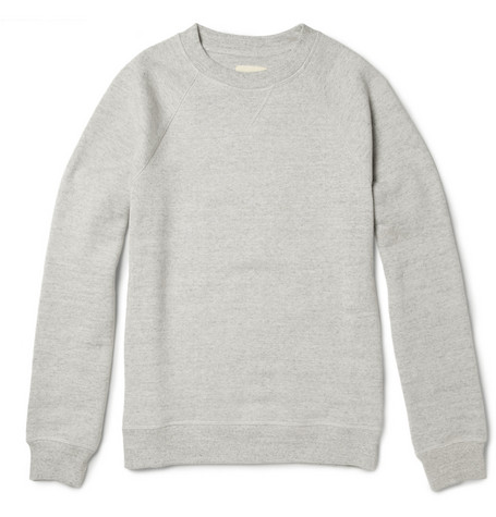 Band of Outsiders Cotton-Blend Sweatshirt
