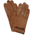 Dunhill - Perforated Leather Driving Gloves