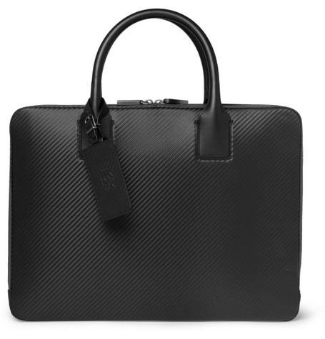 Alfred Dunhill Chassis Leather Briefcase