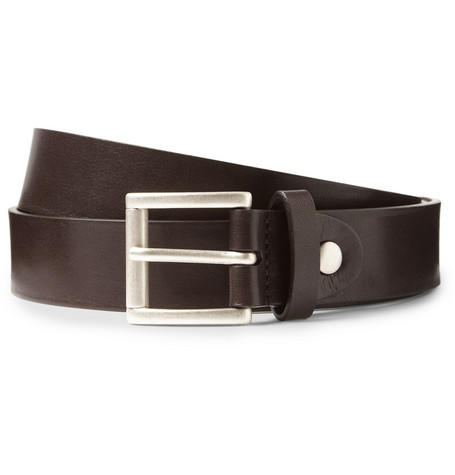 Alfred Dunhill Leather Belt