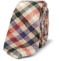 Alexander Olch - Plaid Woven-Wool Tie