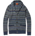 Missoni Zigzag-Knit Wool-Blend Cardigan