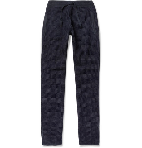 Missoni Slim-Fit Waffle-Knit Wool-Blend Sweatpants