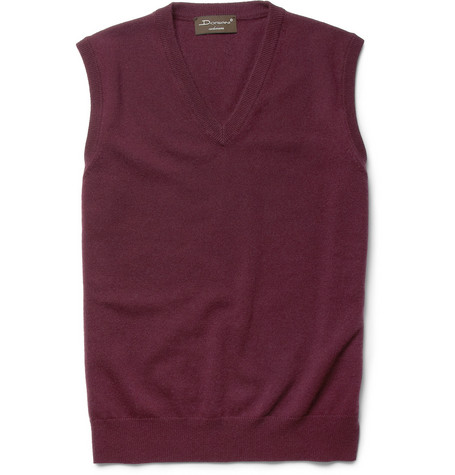 Doriani Sleeveless Cashmere Sweater