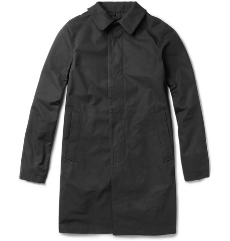Maison Kitsuné Waterproof Cotton Rain Coat