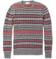 Maison Kitsuné Fair Isle Wool Sweater