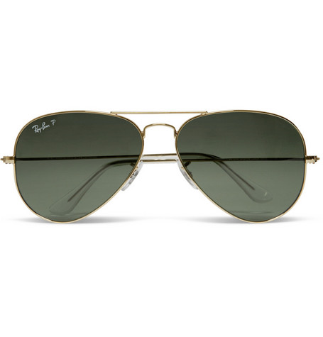 Ray-Ban Original Polarised Aviator Sunglasses