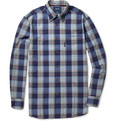 Faconnable Madras-Check Cotton Shirt