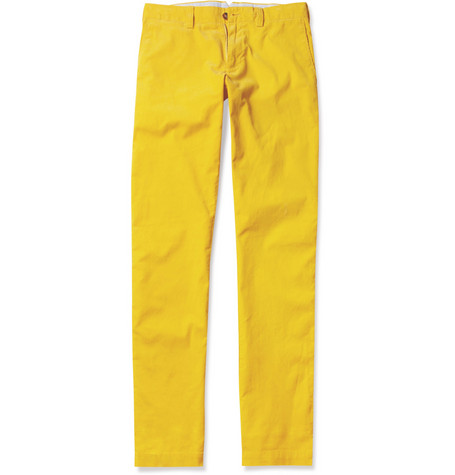 Faconnable Slim-Fit Fine-Corduroy Trousers