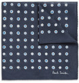 Paul Smith Shoes & Accessories Printed Cotton Pocket Square