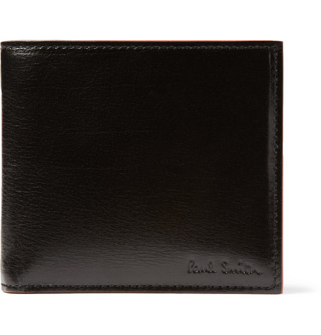 Paul Smith Shoes & Accessories High-Shine Leather Billfold Wallet