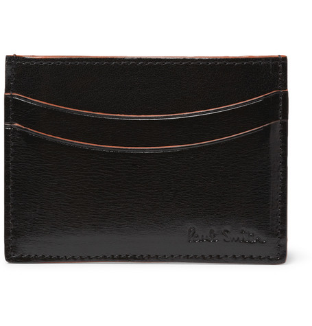 Paul Smith Shoes & Accessories High-Shine Leather Card Holder