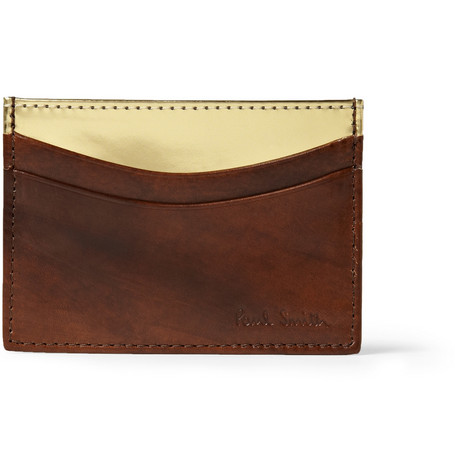 Paul Smith Shoes & Accessories Leather Card Holder
