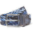 Paul Smith Shoes & Accessories Woven-Leather Belt