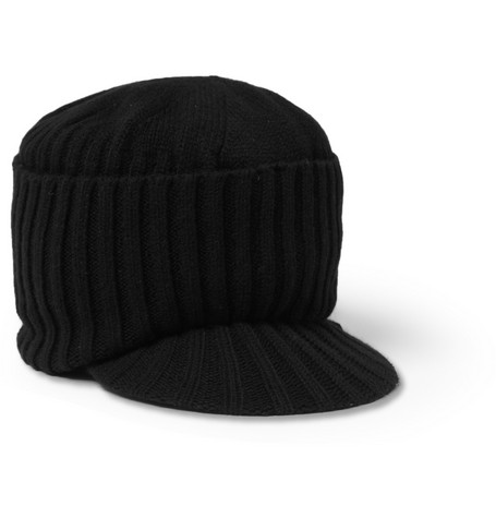Paul Smith Shoes & Accessories Peaked Wool Beanie Hat