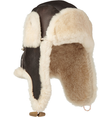 Paul Smith Shoes & Accessories Shearling Hat