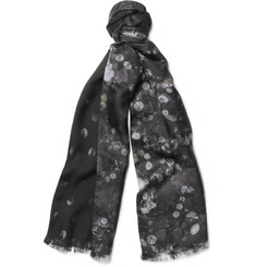 Paul Smith Shoes & Accessories Double-Faced Printed Scarf