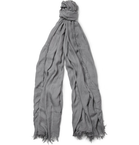 Paul Smith Shoes & Accessories Herringbone Modal Scarf