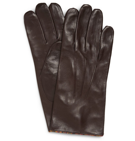 Paul Smith Shoes & Accessories Leather Gloves