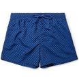 Paul Smith Shoes & Accessories - Short-Length Geometric-Print Swim Shorts