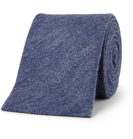 Canali Cashmere and Silk-Blend Tie