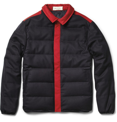 Marni Wool-Blend Quilted Jacket