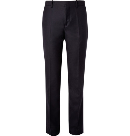 Marni Straight-Leg Wool-Twill Trousers