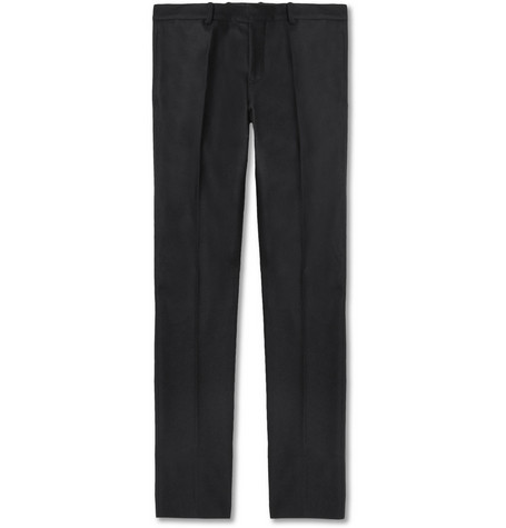 Marni Wool-Blend Felt Trousers