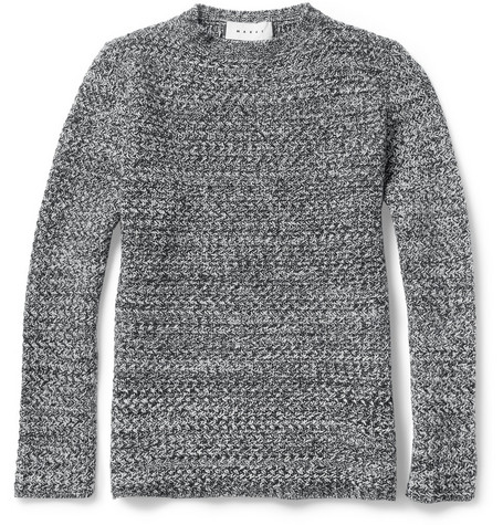Marni Chunky-Knit Wool and Cashmere-Blend Sweater