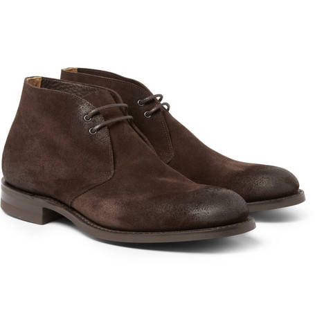 Church's Sahara Suede Burnished Desert Boots