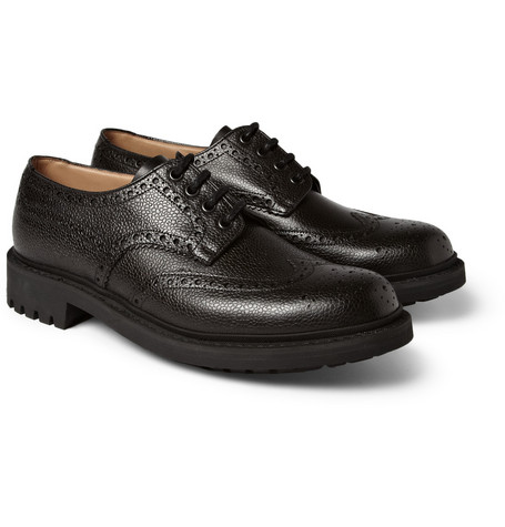 Church's Gorsley Pebble-Grain Leather Brogue