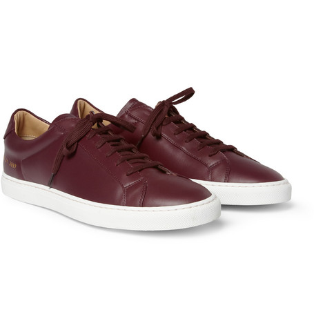 Common Projects Leather Low Top Sneakers