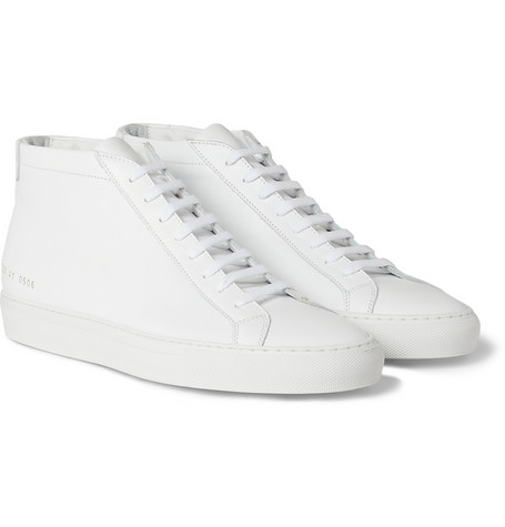 Common Projects Original Achilles Leather High Top Sneakers