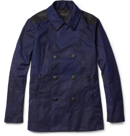 Rag & bone Waxed-Cotton Peacoat