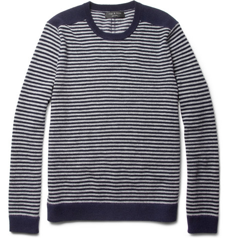 Rag & bone Stowe Striped Wool Sweater