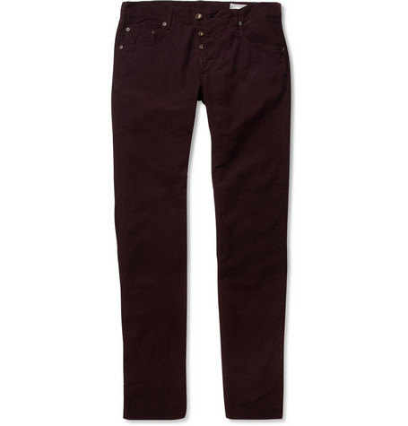 Rag & bone RB15X Straight-Leg Corduroy Trousers